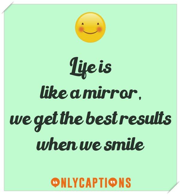 Best selfie captions for Instagram on smile
