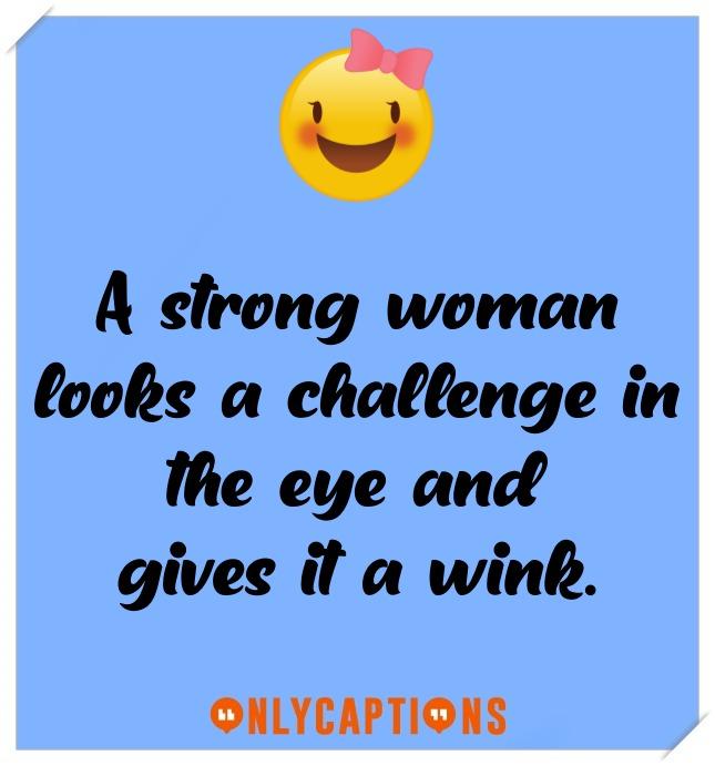 Good Brave Women Captions For Instagram (2021)